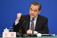 Chinese Foreign Minister Wang Yi. (Photo by Wang Zhao/AFP via Getty Images)