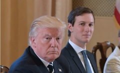 President Donald Trump and his son-in-law, Jared Kushner.  (Getty Images)