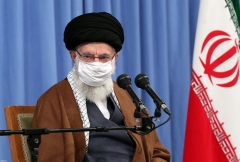 Supreme leader Ayatollah Ali Khamenei. (Photo by khamenei.ir/AFP via Getty Images)