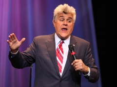 """One night after retiring, former """"Tonight Show"""" host Jay Leno performs to a sold out crowd in the Event Center at the Borgata Hotel Casino & Spa on May 30, 2009 in Atlantic City, NJ. (Photo credit: Tom Briglia/FilmMagic)"""
