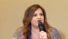 Pro-life activist Abby Johnson speaks during a breakout session at CPAC 2021.  (Screenshot, LifeSiteNews)