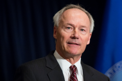 Arkansas Gov. Asa Hutchinson (R).   (Getty Images)