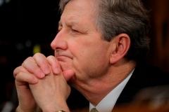 Sen. John Kennedy (R-La.) (Photo by JIM BOURG/POOL/AFP via Getty Images)
