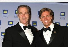 Rep. Sean Patrick Maloney and his then-fiance Randy Florke at the 2014 Human Rights Campaign gala in New York, New York. (Photo by Laura Cavanaugh/Getty Images)