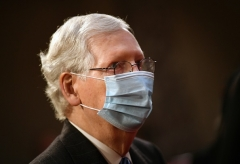 Senate Minority Leader Mitch McConnell (R-Ky.) (Photo by KEVIN DIETSCH-POOL-AFP via Getty Images)