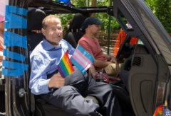 Rep. Jerry Nadler (D.-N.Y.) at the New York Pride March, June 5, 2019. (Photo by Lev Radin/Pacific Press/LightRocket via Getty Images)