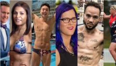 Transgender athletes. (Screenshot: Pink News)