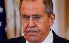Russian Foreign Minister Sergei Lavrov. (Photo by Andrew Caballero-Reynolds/AFP/Getty Images)