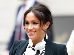 Meghan, Duchess of Sussex attends a panel discussion, convened by The Queen's Commonwealth Trust, to mark International Women's Day. (Photo credit: Max Mumby/Indigo/Getty Images)