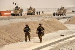 U.S. soldiers in Kandahar province, Afghanistan. (Photo by Javed Tanveer/AFP via Getty Images)