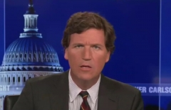 "Tucker Carlson hosts the Wednesday edition of ""Tucker Carlson Tonight."" (Photo credit: Fox News)"