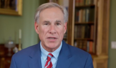 Texas's Republican Gov. Greg Abbott.  (Twitter)