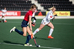 Real women playing field hockey.  (Getty Images)