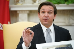 Florida Gov. Ron DeSantis (R).  (Getty Images)