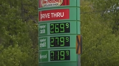 Featured are gas prices in Detroit, MI. (Photo credit: YouTube/WXYZ-TV Detroit | Channel 7)