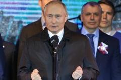 President Vladimir Putin. (Photo by Mikhail Svetlov/Getty Images)