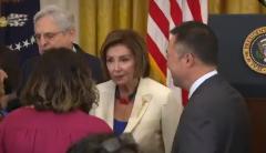 House Speaker Nancy Pelosi (D-Calif.) (Screenshot)
