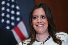Rep. Elise Stefanik (R-N.Y.), the new GOP House Conference Chair, holds an American Conservative Union rating of 44%. (Getty Images)