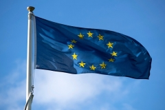 The flag of the European Union.  (Photo by Matthew Horwood/Getty Images)