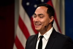 Representative Joaquin Castro (D-TX, 20) speaks about 'Congress' Role in Trump Era Foreign Policy' at Harvard University Institute of Politics John F. Kennedy Jr. Forum on September 20, 2018 in Cambridge, Massachusetts. (Photo by Paul Marotta/Getty Images)