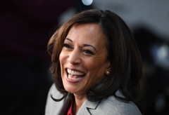Vice President Kamala Harris recently compared the importance of visiting the border to visiting Europe. (Photo credit: SAUL LOEB/AFP via Getty Images)