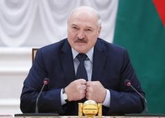 Belarusian President Alexander Lukashenko. (Photo by Dmitry Astakhov/Pool/AFP via Getty Images)