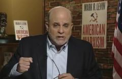 "Fox News host Mark Levin hosts ""Life, Liberty & Levin."" (Photo credit: Fox News)"