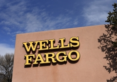 Featured is the outside of a Wells Fargo bank. (Photo credit: Robert Alexander/Getty Images)