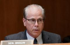 Sen. Mike Braun (R-Ind.) (Getty Images)
