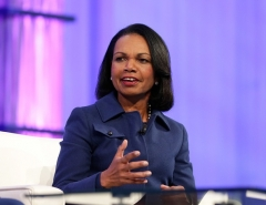 Condoleezza Rice formerly served as National Security Adviser, then Secretary of State under President George W. Bush. (Photo by Marla Aufmuth/Getty Images for Watermark Conference for Women)