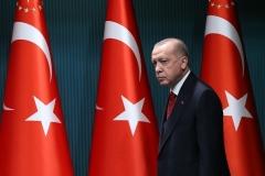 Turkey's Islamist President Recep Tayyip Erdogan. (Photo by Adem Altan/AFP via Getty Images)