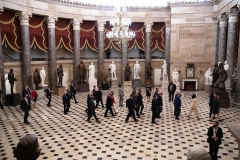 Statuary Hall in the US Capitol as of April 28, 2021. (Photo by GREG NASH/POOL/AFP via Getty Images)