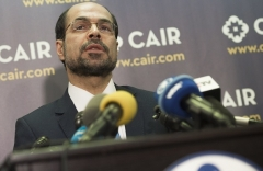 Council on American-Islamic Relations Executive Director Nihad Awad. (Photo by Saul Loeb/AFP via Getty Images)