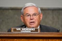 Sen. Robert Menendez (D-N.J.) (Photo by SUSAN WALSH/POOL/AFP via Getty Images)