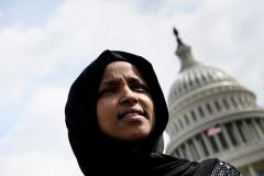 Rep. Ilhan Omar (D-Minn.)  (Photo by Brendan Smialowski/AFP/Getty Images)