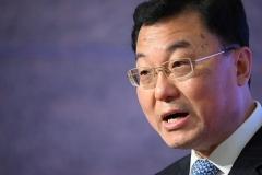 Chinese Vice Foreign Minister Xie Feng.  (Photo by Philip Fong/AFP via Getty Images)