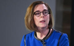 Oregon Governor Kate Brown (D) (Photo by Shannon Finney/Getty Images)
