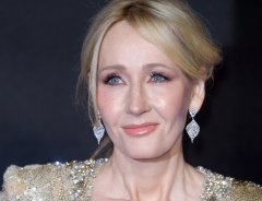 Author and philanthropist J.K. Rowling.  (Getty Images)