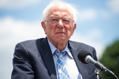 """Senator Bernie Sanders (I-Vt.) is the architect of a $3.5 trillion """"human"""" infrastructure bill, which includes most of the Democrat agenda and has zero GOP support. (Photo by SAUL LOEB/AFP via Getty Images)"""