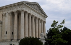 The US Supreme Court issued the final rulings of the current term on July 1, 2021. (Photo by OLIVIER DOULIERY/AFP via Getty Images)