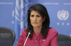 Former UN Ambassador Nikki Haley (Photo via EuropaNewswire/Gado/Getty Images)