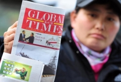 Global Times is a mouthpiece of the Chinese Communist Party (Photo by Frederic J. Brown/AFP via Getty Images)