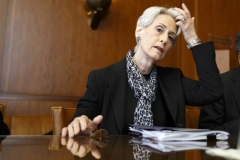 Wendy Sherman, now deputy secretary of state, during her previous posting as undersecretary for political affairs in the Obama administration. (Photo by Valentin Flauraud/AFP via Getty Images)