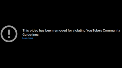 YouTube removed two videos posted by Sen. Rand Paul, then banned him for 7 days.