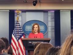 White House Press Secretary Jen Psaki (CNSNews.com/Melanie Arter)