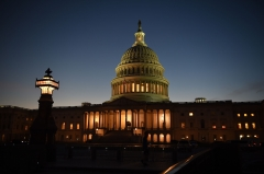 Featured is the Capitol building in Washington, D.C. (Photo credit: OLIVIER DOULIERY/AFP via Getty Images)