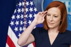 White House Press Secretary Jen Psaki speaks during the daily briefing in the Brady Briefing Room of the White House in Washington, DC on June 8, 2021. (Photo by MANDEL NGAN/AFP via Getty Images)