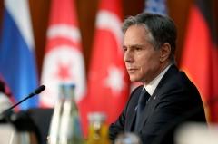 Secretary of State Antony Blinken (Photo by MICHAEL SOHN/POOL/AFP via Getty Images)