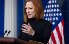 White House Press Secretary Jen Psaki holds a press briefing in the Brady Press Briefing Room of the White House in Washington, DC, September 10, 2021. (Photo by SAUL LOEB/AFP via Getty Images)