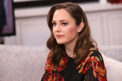 """Actress Laura Osnes visits Hallmark Channel's """"Home & Family"""" at Universal Studios Hollywood. (Photo credit: Paul Archuleta/Getty Images)"""